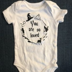 Unisex Harry Potter You Are So Loved Onesie